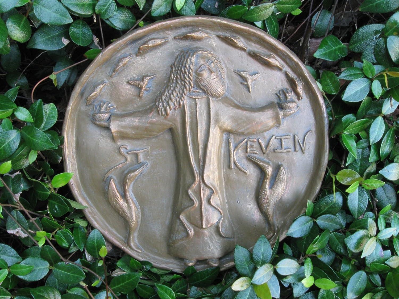 Bird-Lovers Dublin; Handmade Plaque St Kevin: Patron of Birds