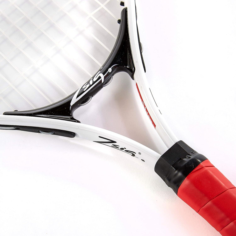 Rot//Wei/ß 53 cm Zsig Kinder Mini-Tennisschl/äger