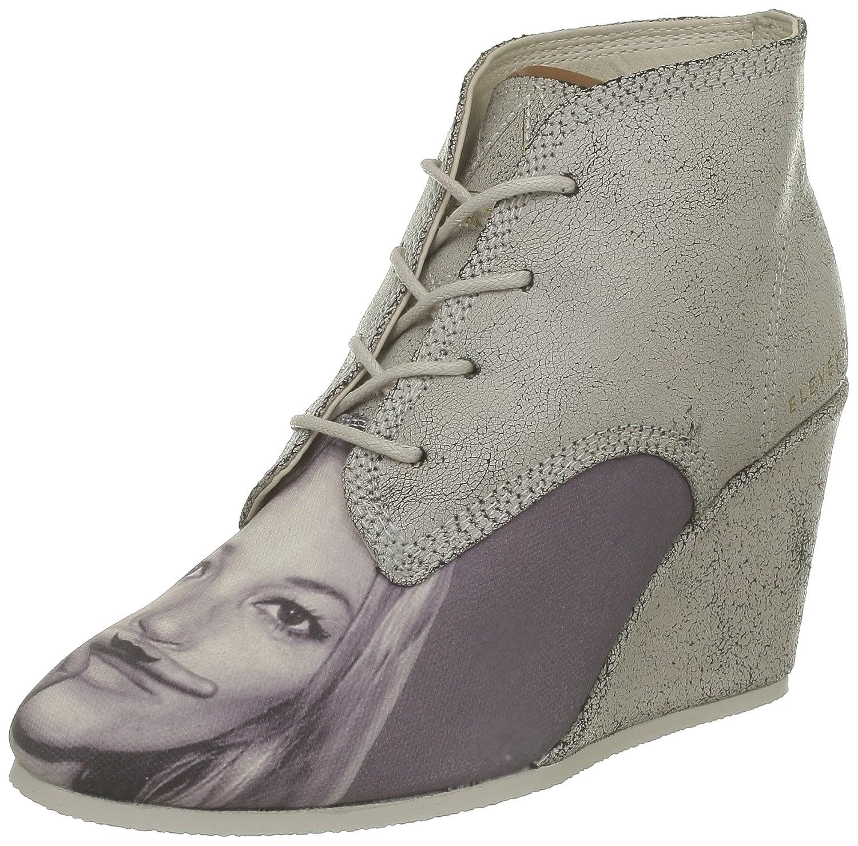 Eleven Paris Lanacrack Kate - Botines de cuña con cordones, talla: 37, color: Blanco - Blanc (Kate): Amazon.es: Zapatos y complementos