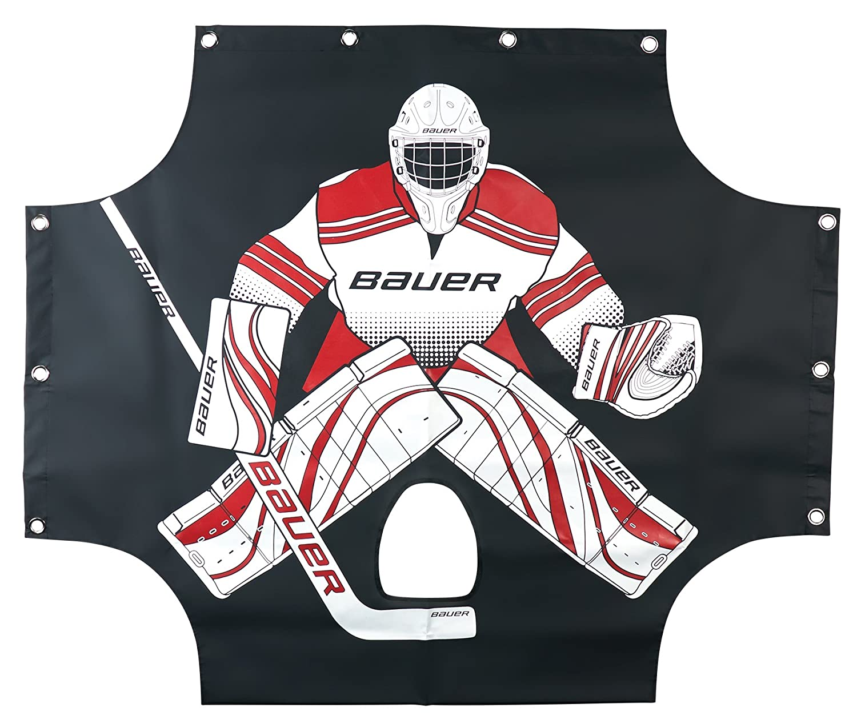 Bauer Street Hockey Performance Sharpshooter 54 x 44-Inch Goal, Black Bauer Performance Sports 1046692