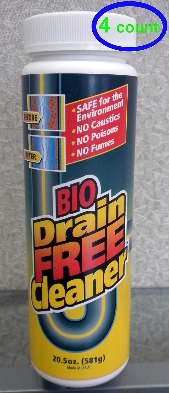 Heartland Labs de27 – 4pk Bio Drain Free Cleaner B00GM2OLHI