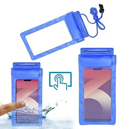 buy popular adb70 1dde4 Acm Waterproof Bag Case for Oppo A3s Mobile Blue: Amazon.in: Electronics