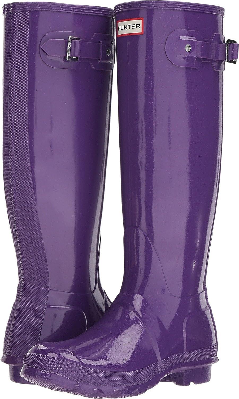 Hunter Womens Original Starcloud Tall Rain Boots B07DP39VYT 11 M US|Acid Purple