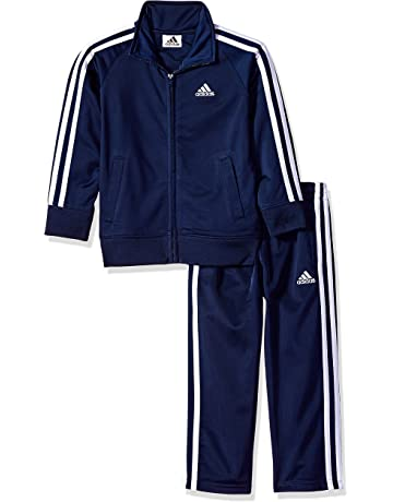 f0cb039121e5 adidas Boys  Tricot Jacket and Pant Set