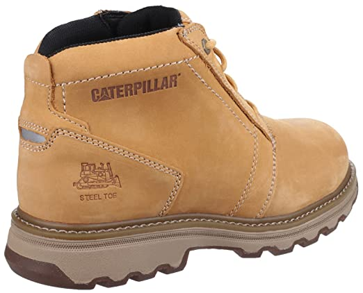 f8361842f385c6 CAT Workwear Mens Parker Lightweight Leather S1P Safety Boots: Amazon.fr:  Commerce, Industrie & Science