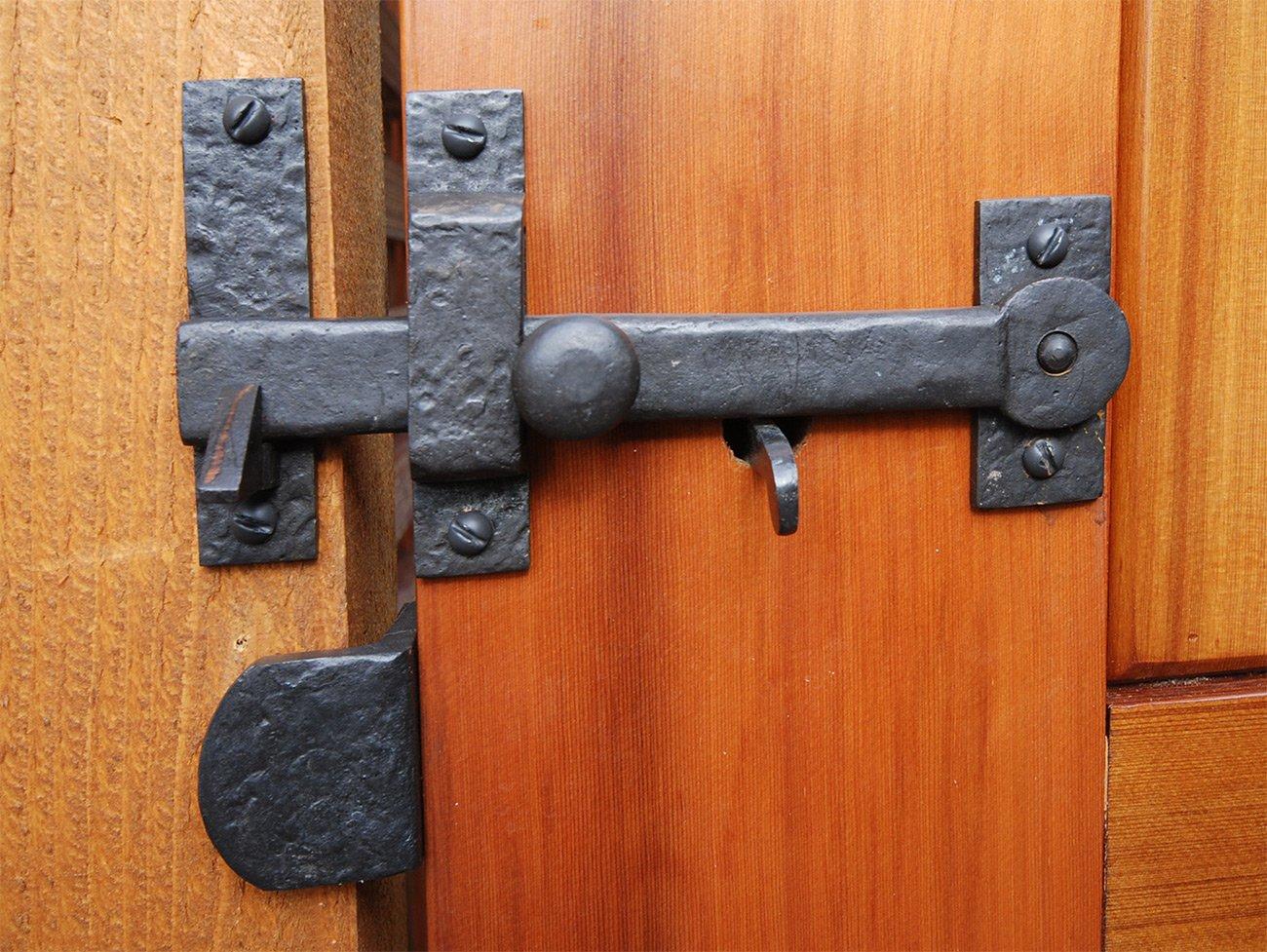 Coastal Bronze - Complete Gate Kit - Hinges / Thumb Latch / Drop Bar Set by Coastal Bronze (Image #2)