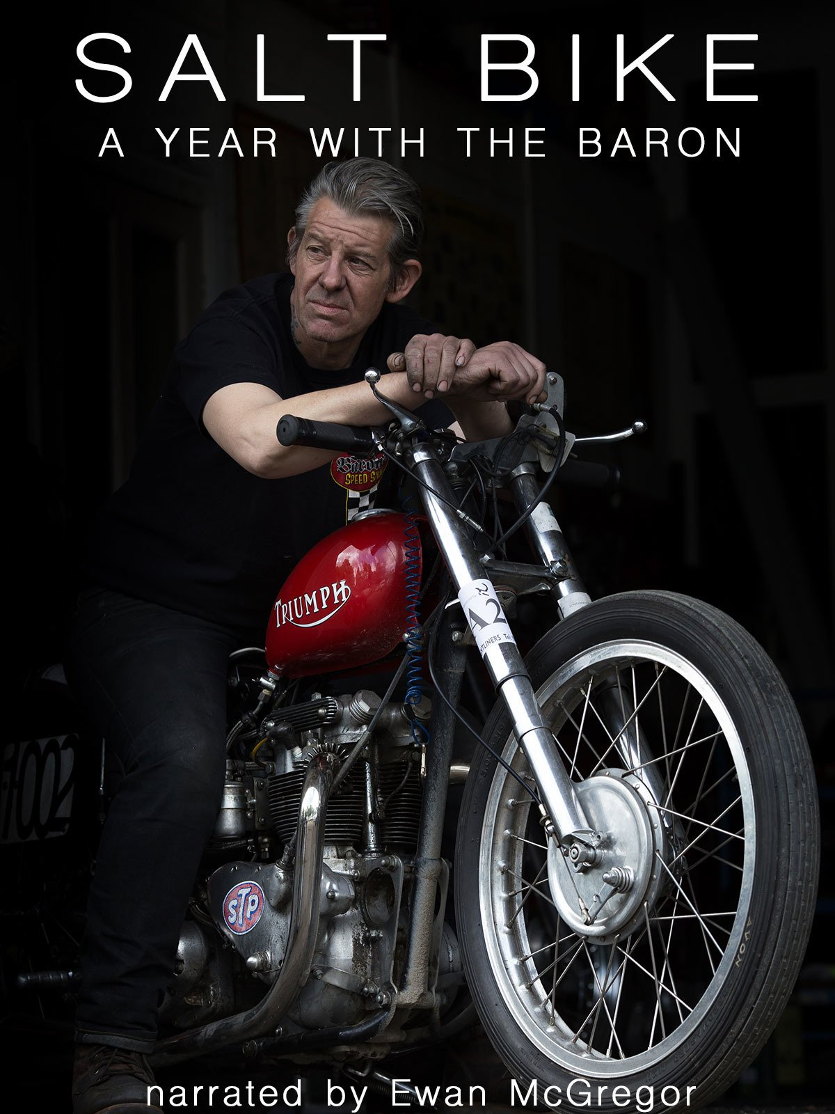 Salt Bike: a year with the Baron (narrated by Ewan McGregor)