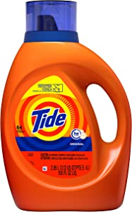 Tide Liquid Laundry Detergent, Original, 64 loads, 92 fl oz
