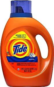 Tide Liquid Laundry Detergent, Original, 64 loads, 100 fl oz