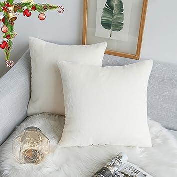 Amazon.com: Kevin - Funda de almohada de piel sintética para ...