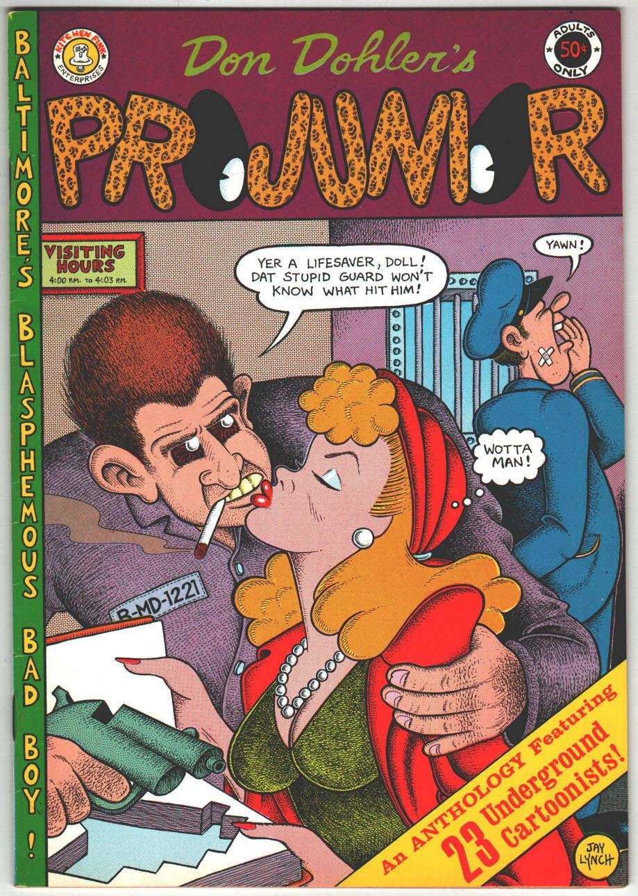 Projunior: Issue #1 (an Anthology Featuring 23 Underground cartoonists), dohler, Don