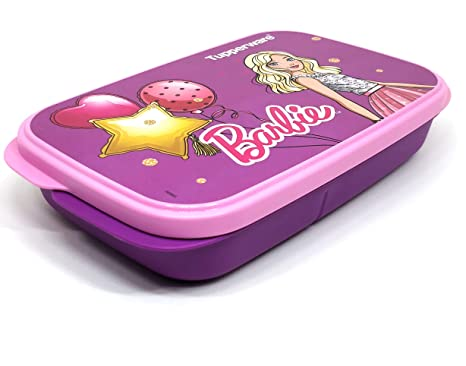 Tupperware Barbie My Lunch, Set of 1, Multicolor Lunch Boxes