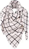 "Simplicity 55"" x 55"" Blanket Scarf Wrap Shawl Plaid Tassel Pashmina"