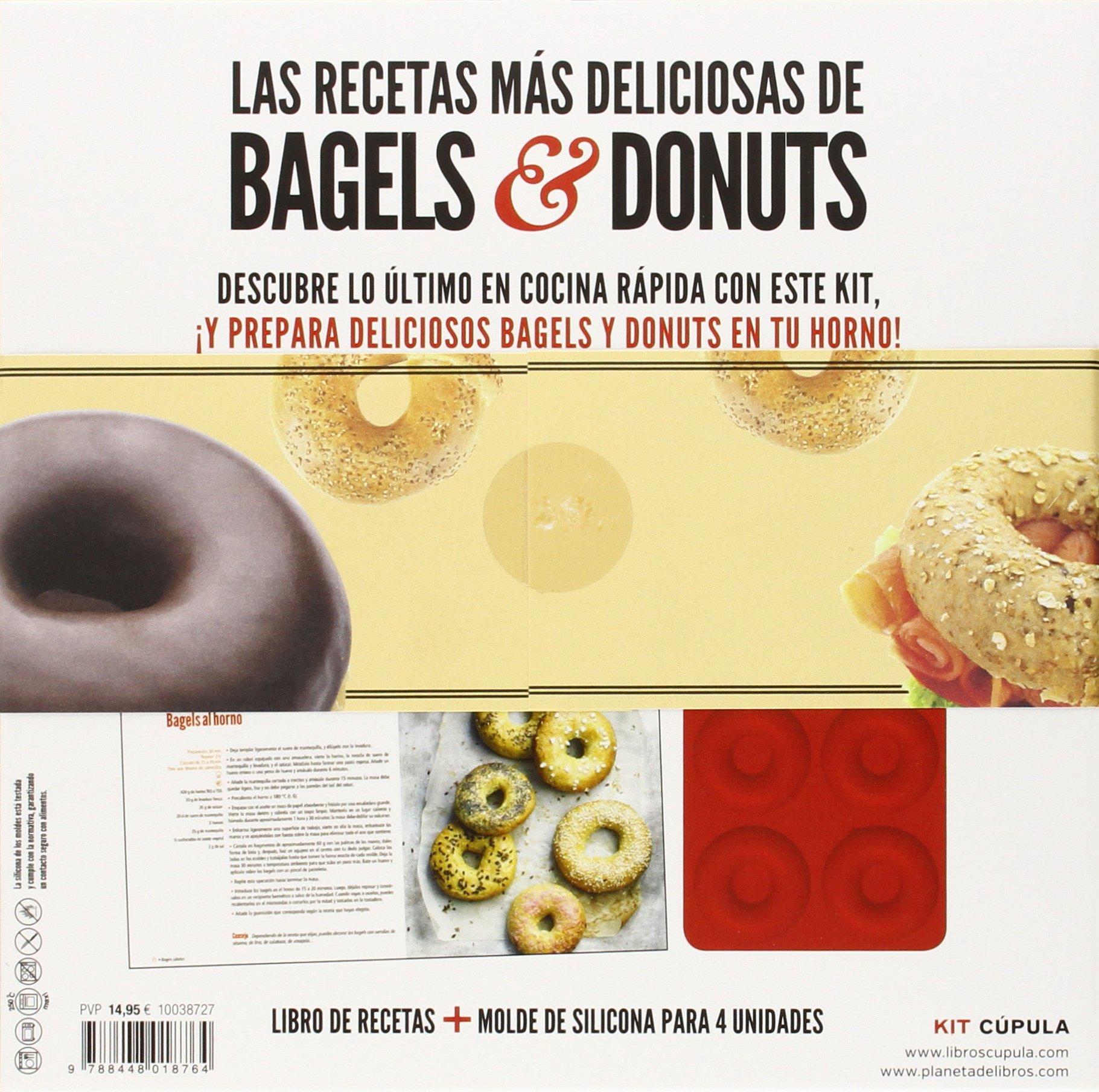 Kit Las recetas más deliciosas de bagels & rosquillas: AA. VV.: 9788448018764: Amazon.com: Books