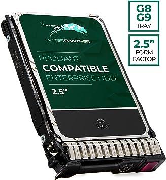 HP G8 300GB 10K 6Gb//s 2.5 SAS Drive with Tray.