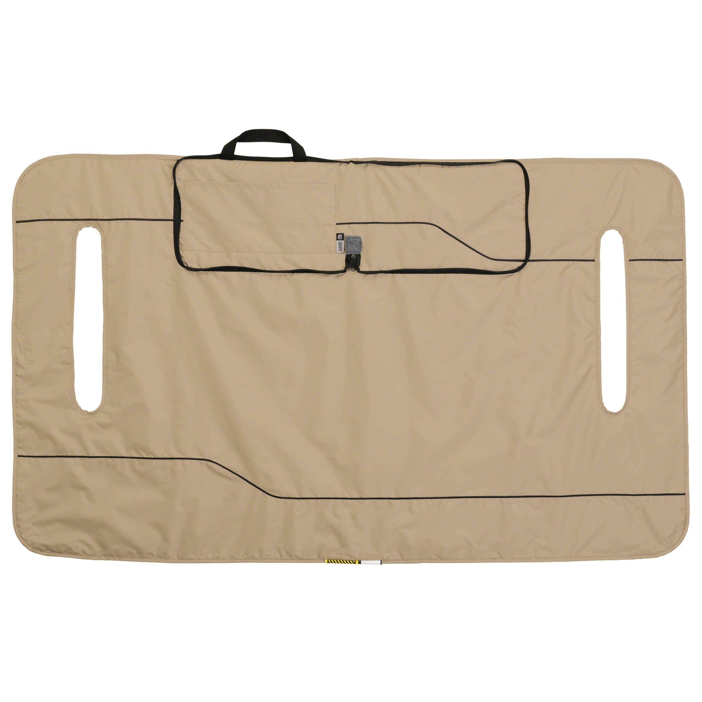 Classic Accessories Fairway Golf Cart Seat Blanket/Cover, Light Khaki