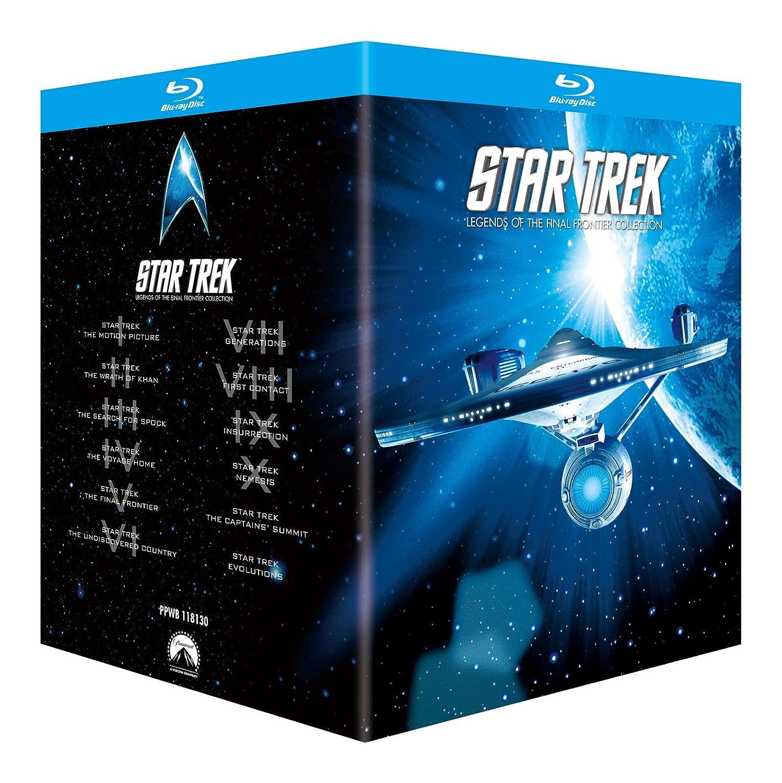 スタートレックI-X 劇場版BOX [Blu-ray] B002JTZ6UO