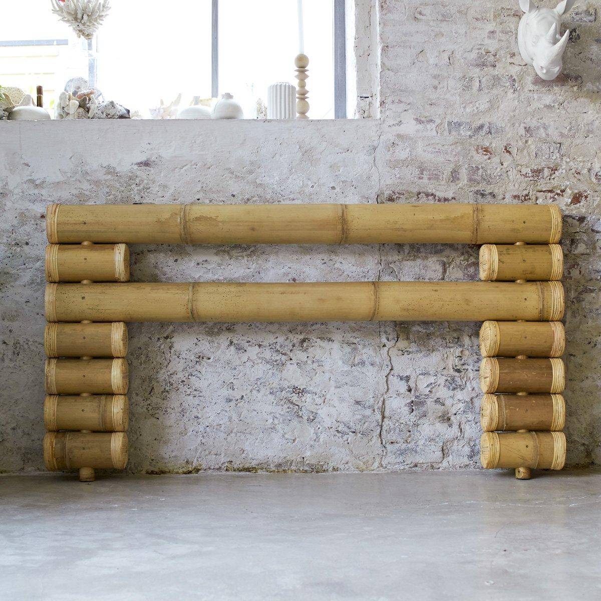 Tête de lit bambou Bedrest Design asiatique exotique Matériau ...