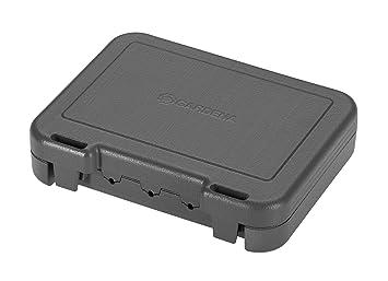 Cable perimetral GARDENA (50 m): alambre perimetral para robots cortacésped GARDENA, resistente a la intemperie, apto para exterior, sirve de guía para ...