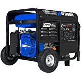 DuroMax XP13000E Gas Powered Portable Generator-13000 Watt Electric Start-Home Back Up & RV Ready, 50 State Approved, Blue/Bl