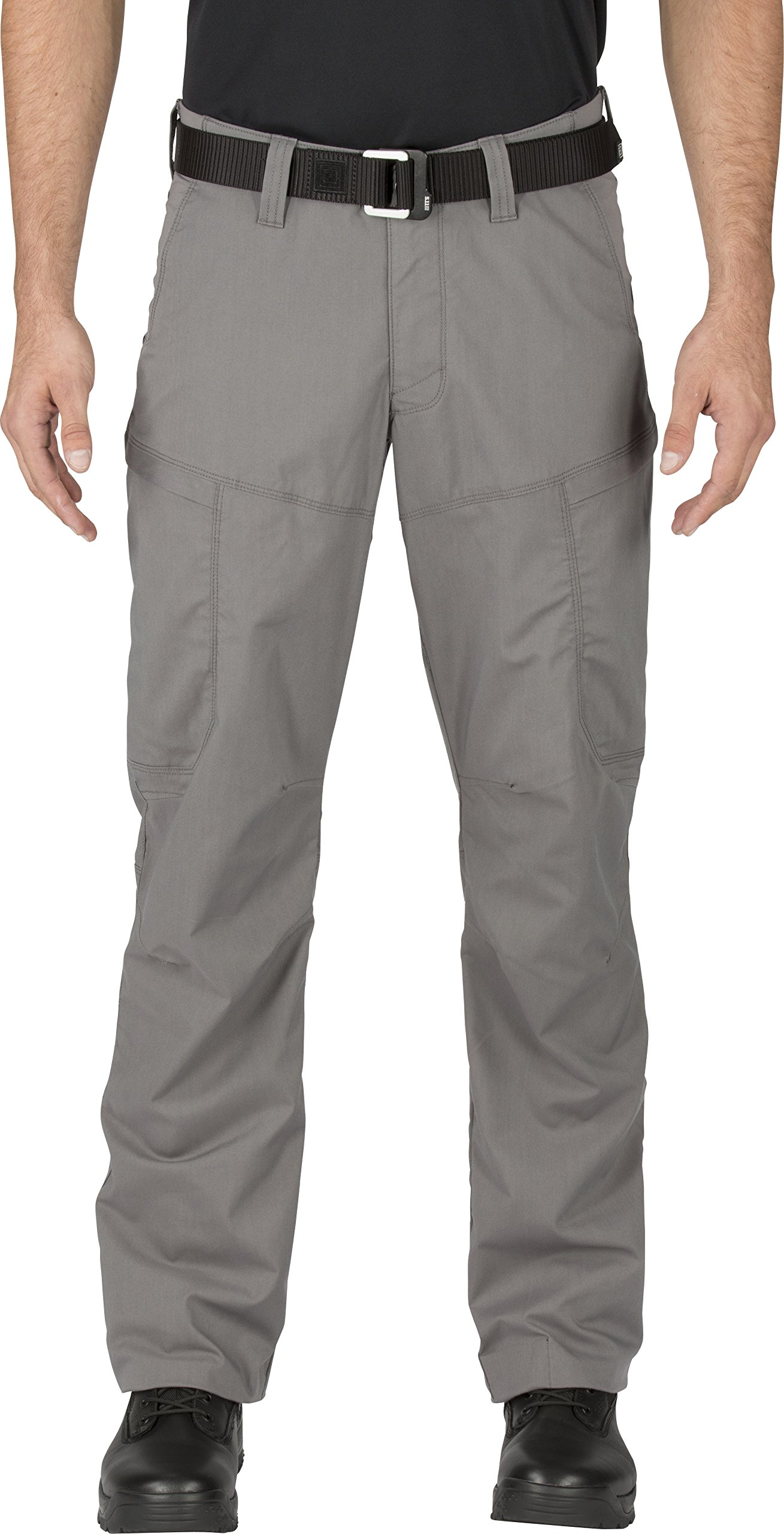 5.11 Men's APEX EDC Stealth Cargo Pocket Tactical Pant Style 74434, Storm, 42W x 32L by 5.11