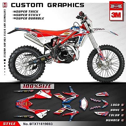 Amazon com: Kungfu Graphics Motorex Custom Decal Kit for