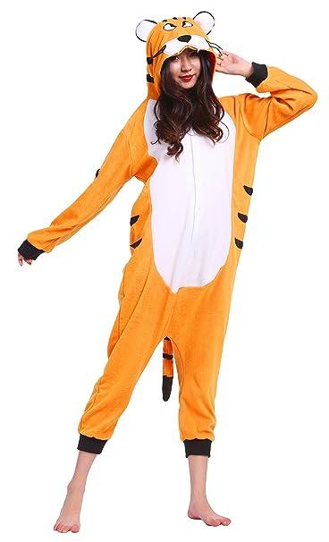 Pijamas Animales Leon Mujer Invierno Cosplay Traje Disfraz Adulto