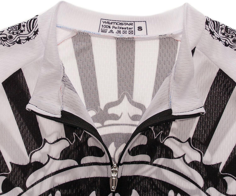 Mens Shorts Sleeve Cycling Jersey Tops Bike Clothing Biking Shirt 3 Pockets