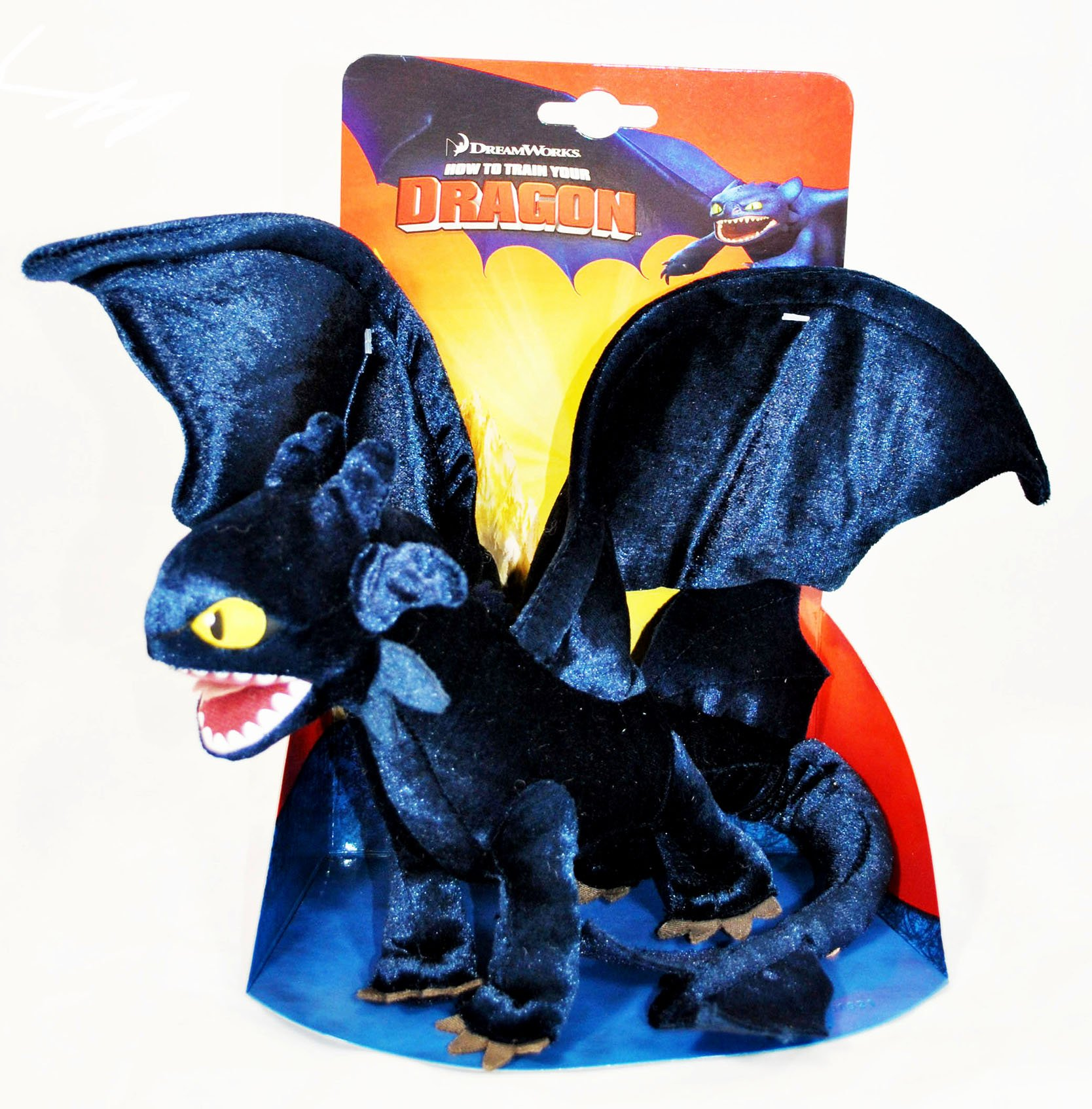 How To Train Your Dragon Movie 8.5 Inch Plush Figure Night Fury