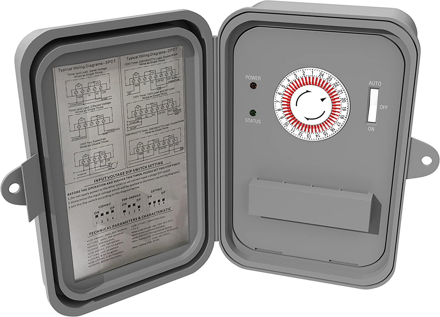 Stanley 31255 Time It Switch Grey THE NCC