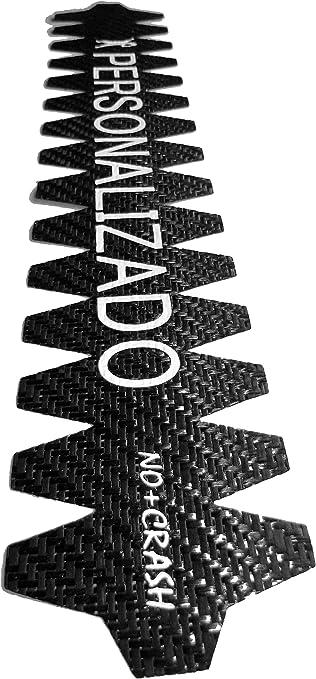 No+Crash Personalizado 100% Carbono - TU Protector Padel con Texto ...