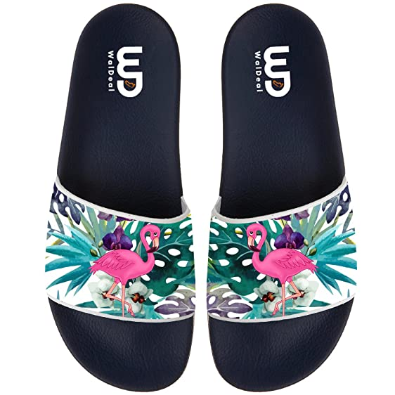 Palm Tree Men's Fashion Comfortable Flip Flop Big Screen Slip On Slide Sandal