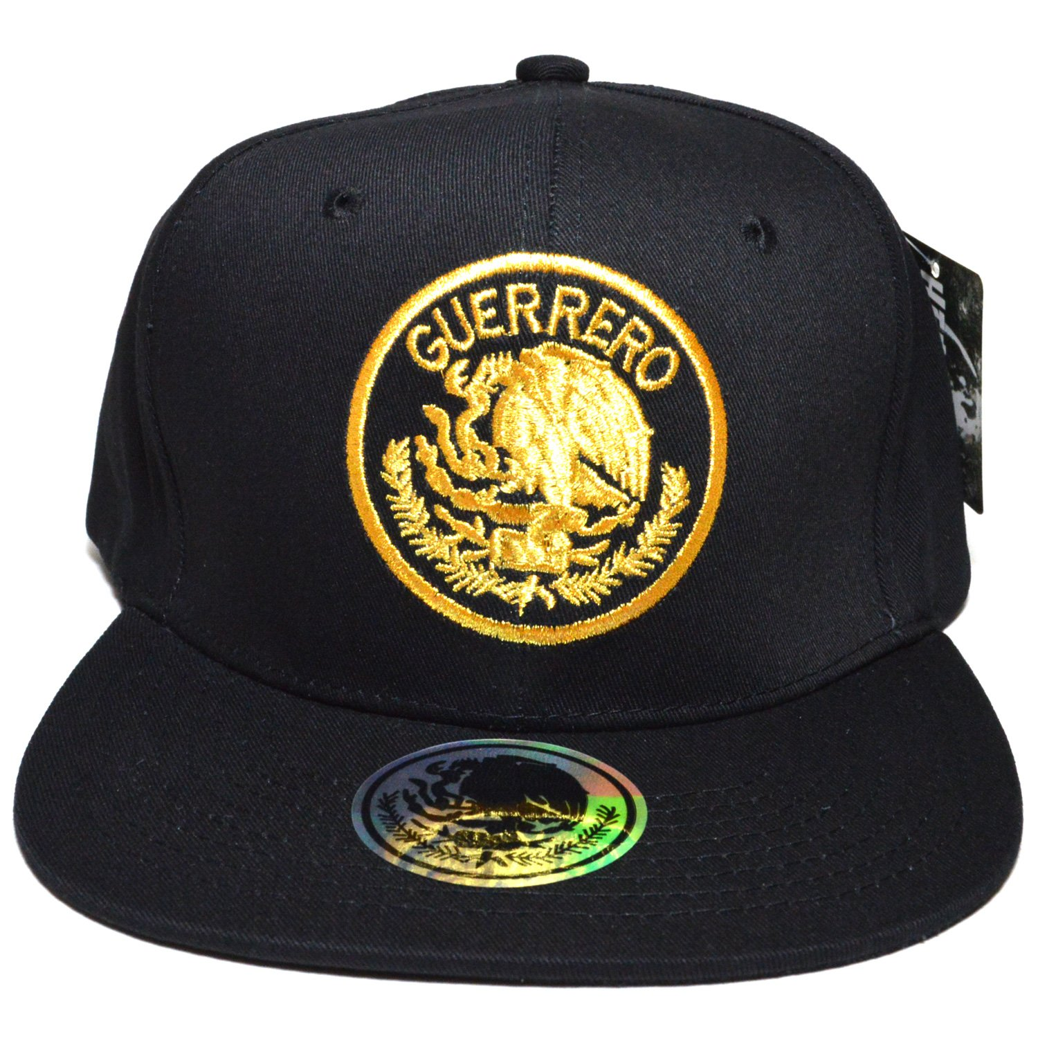 ae87663a7d3aa Headlines Mexico City Embroidered  01 Snapback Flat Bill Visor Cap Durable  Golf Baseball Hat (Guerrero) at Amazon Men s Clothing store