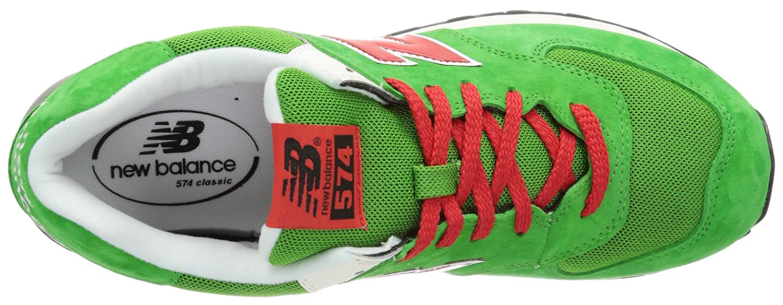 66958ef481c2 New Balance ML574 D (13H) 313831-60, Herren Sneaker, Grün (UV GREEN RED 6),  EU 36 (US 4)  Amazon.de  Schuhe   Handtaschen