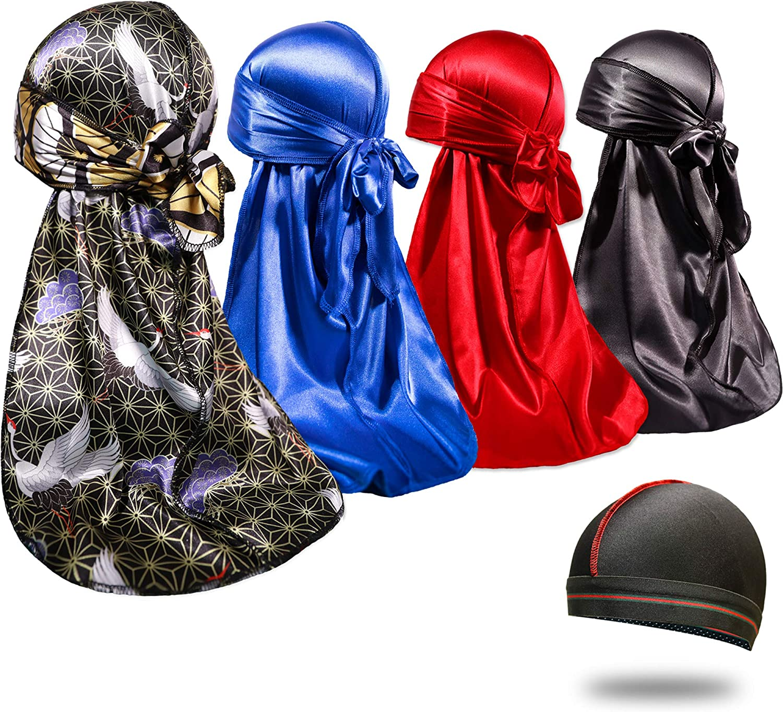 "Free Shipping /""Designer/"" Durag Du rags Premium Knit Spandex"