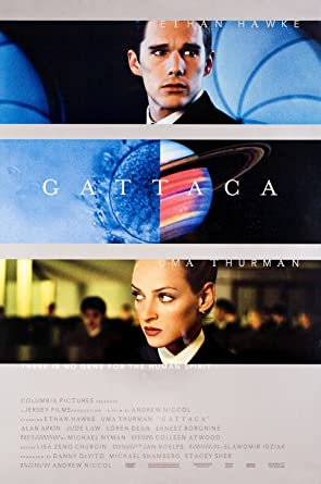 aa8a0f15e2fe Gattaca 1997 U.S. One Sheet Poster at Amazon's Entertainment ...