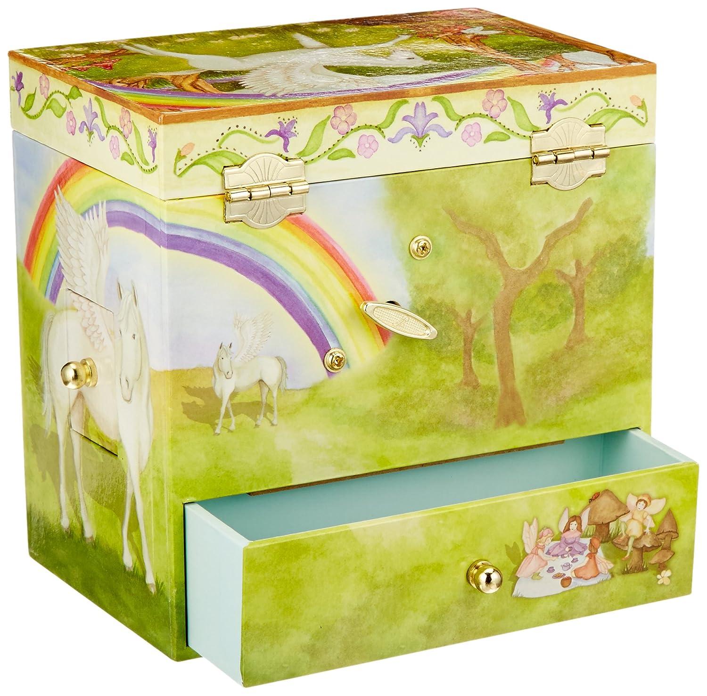 Amazoncom Enchantmints Pegasus Music Jewelry Box Toys Games
