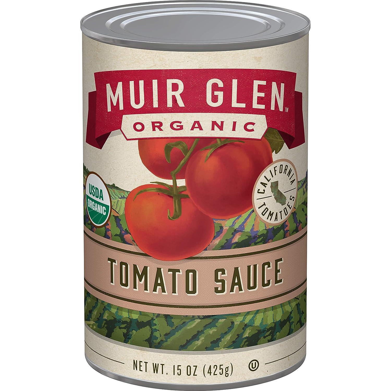Muir Glen Organic Tomato Sauce, 15 oz