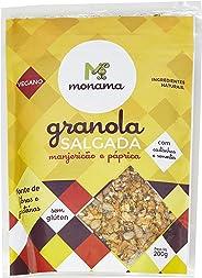 Granola Salgada Manjeiricão e Páprica sem Glúten Monama 200g