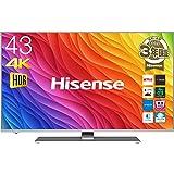 ハイセンス 43V型 液晶 テレビ 43A6500 4K 外付けHDD裏番組録画対応 HDR対応 2018年モデル