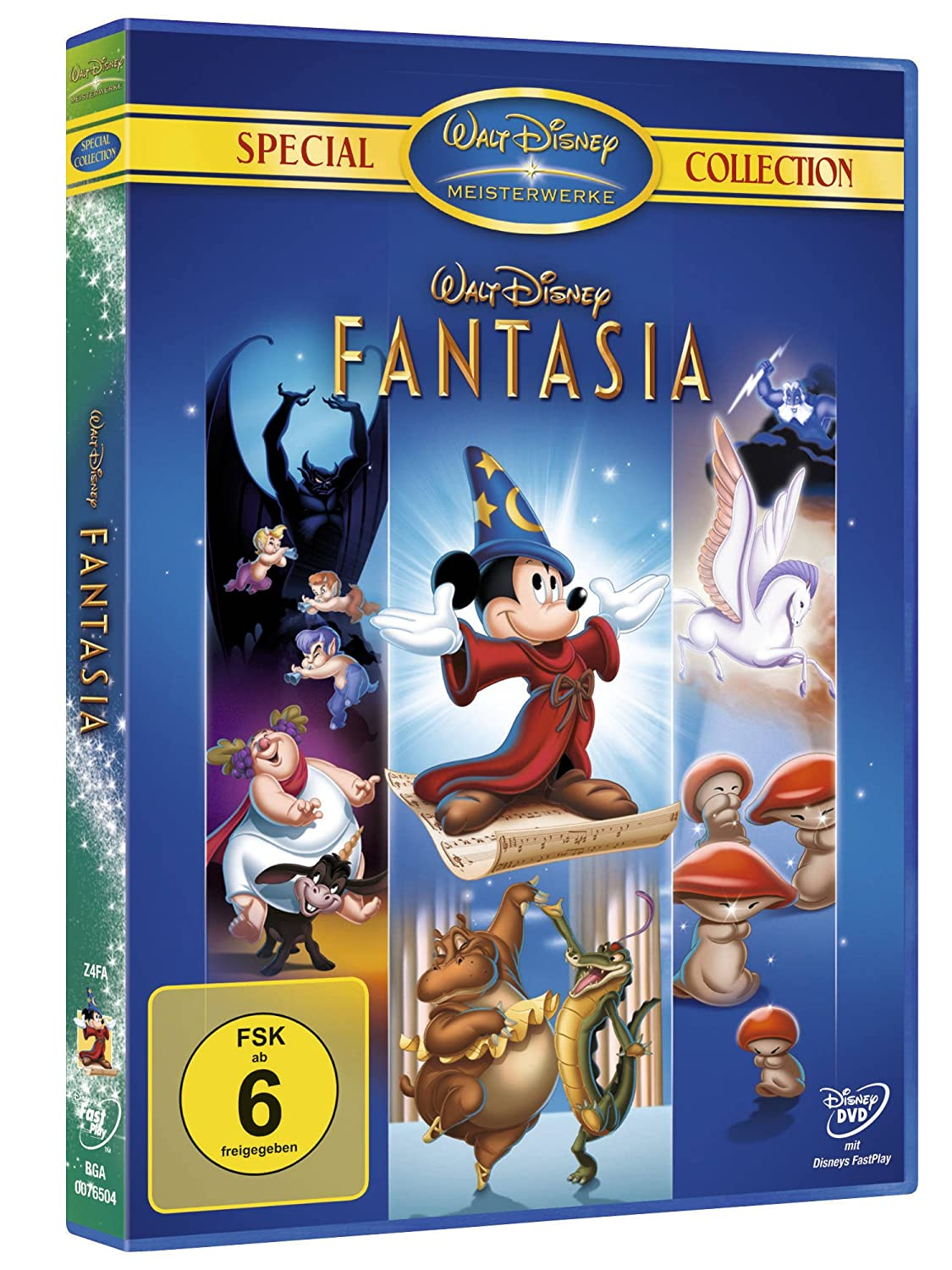 Fantasia [Special Edition]: Amazon.de: Walt Disney, Deems Taylor ...