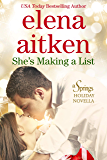 She's Making A List (Rocky Mountain Hearts Book 6)
