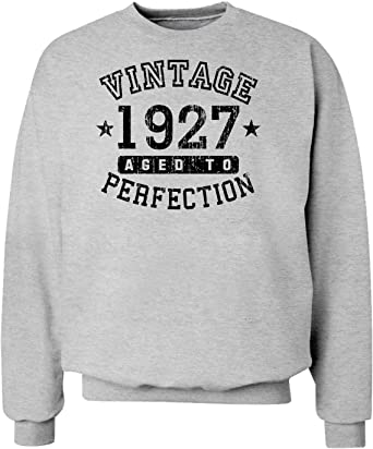 TooLoud 1927 Vintage Birth Year Hoodie Sweatshirt Brand