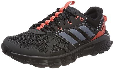 adidas Damen Rockadia Trail Traillaufschuhe, Grau (Carbon/Acenat/Esctra 000), 40 2/3 EU