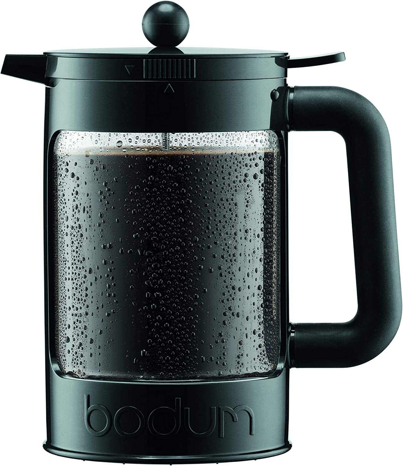 Bodum K11683-01WM Bean Cold Brew Coffee Maker, 51 Oz, Jet Black