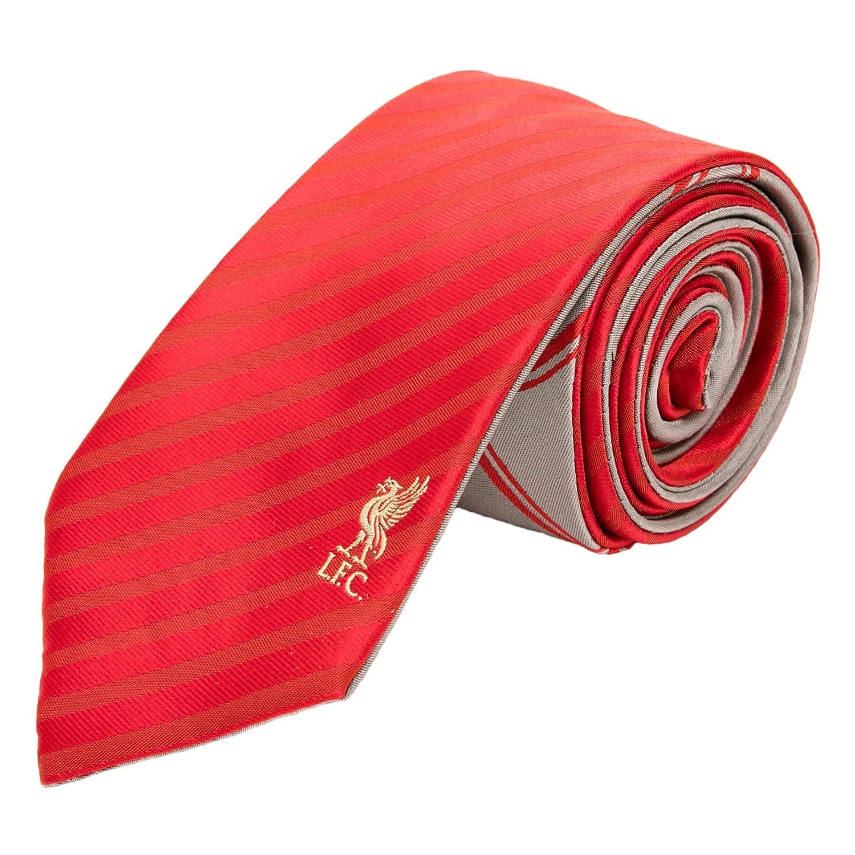 Liverpool FC LFC Mens completo rojo reversible corbata oficiales ...