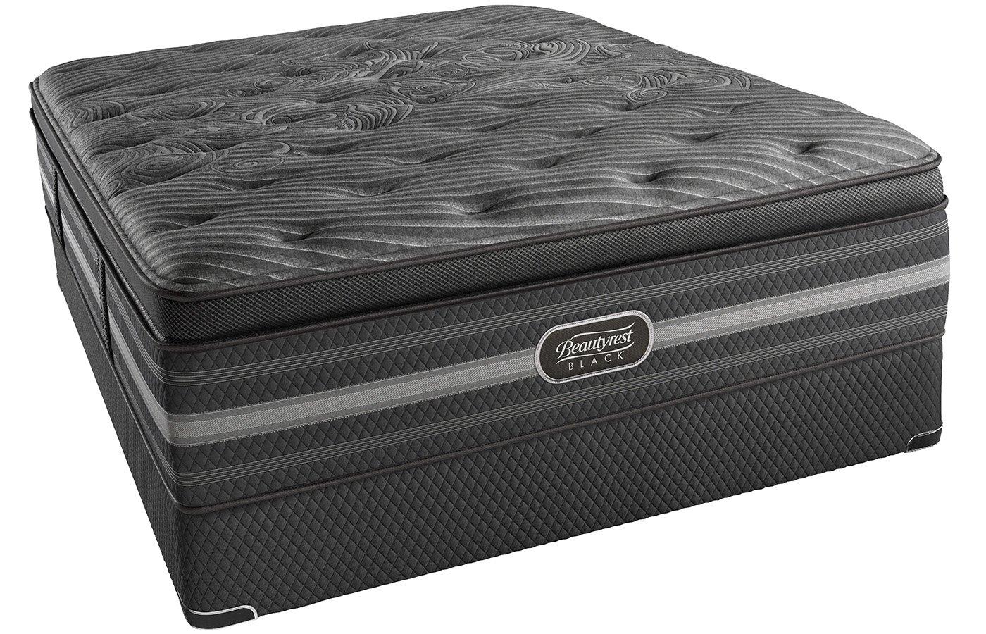 Simmons Beautyrest negro Natasha Queen-size juego de lujo colchón pillow-top: Amazon.es: Electrónica