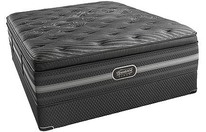 king size mattress set modern simmons beautyrest black natasha luxury firm pillow top kingsize mattress set amazoncom