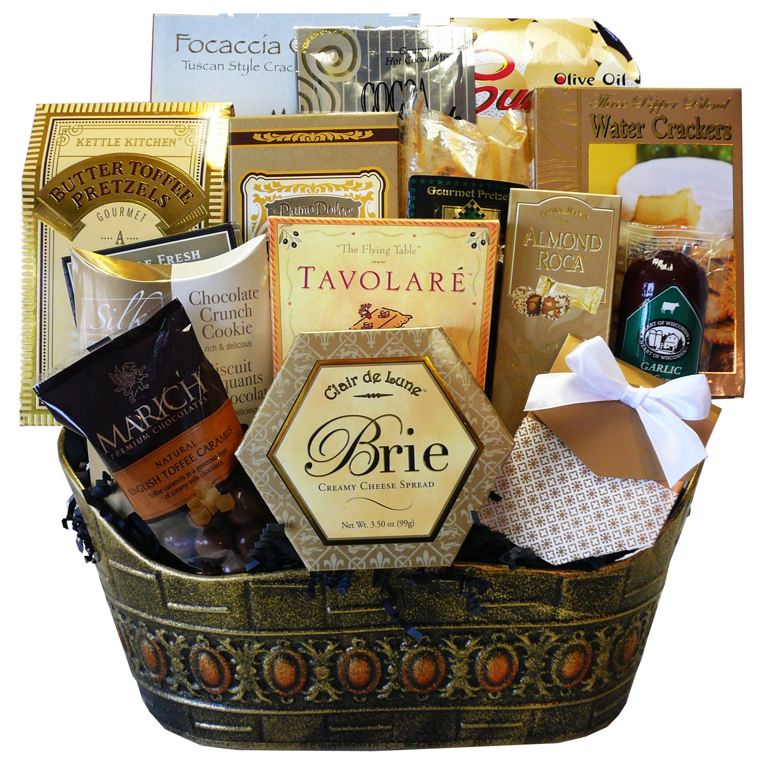 Gourmet food baskets food com standing ovation gourmet food basket chocolate negle Gallery