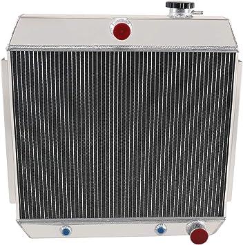 Aluminum Radiator For Chevy Bel Air V8 W//Cooler 1955-1957 55 56 57